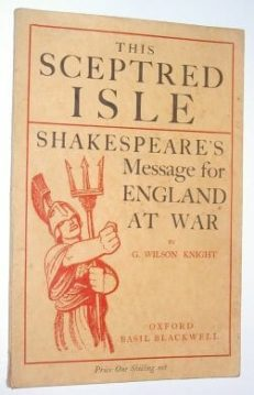This Sceptred Isle G Wilson Knight Oxford 1940