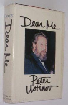 Dear Me Peter Ustinov Little Brown 1977