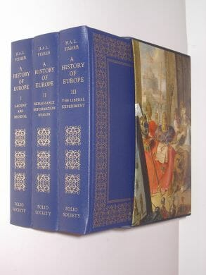 A History Of Europe H A L Fisher Folio Society 2011