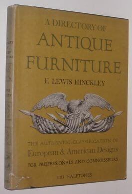 A Directory Of Antique Furniture Hinckley New York 1953