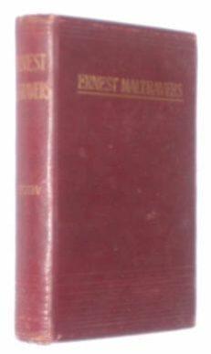 Ernest Maltravers Lord Lytton Edward King c1894