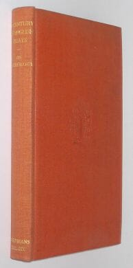 A Century Of English Essays An Anthology Dent 1945