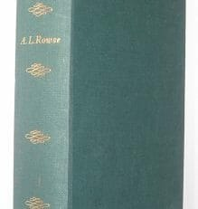 William Shakespeare A L Rowse Macmillan 1963