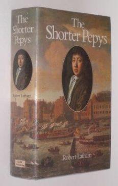 The Shorter Pepys Robert Latham Bell Hyman 1985