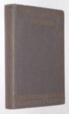 Recent Poetry 1923-1933 Howe Poetry Bookshop 1933