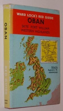 Ward Lock's Red Guide Oban And Western Scotland 1970
