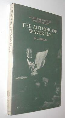 The Author Of Waverley Devlin Macmillan 1971