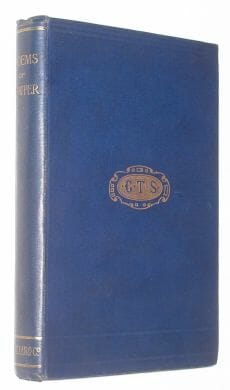 Selections From Cowper's Poems Macmillan 1883