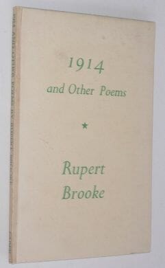 1914 And Other Poems Rubert Brooke Faber 1945