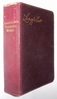 Poetical Works Of Henry Wadsworth Longfellow Warne 1880