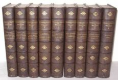 9 Volume Complete Cambridge Shakespeare Macmillan 1891-93