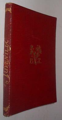 Juvenilia Alfred Lord Tennyson Macmillan 1895
