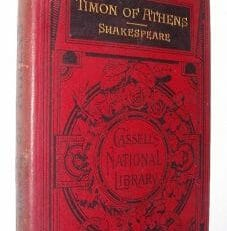 Timon Of Athens Shakespeare Cassell Library 1888