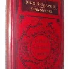 King Richard III Shakespeare Cassell Library 1889