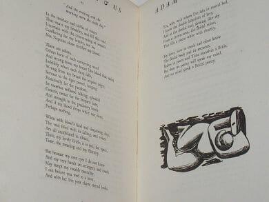 Adam & Eve & Us Poems by Hardiman Scott Sylvan Press 1946
