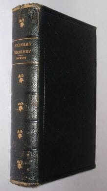 Nicholas Nickleby Charles Dickens Frowde c1910