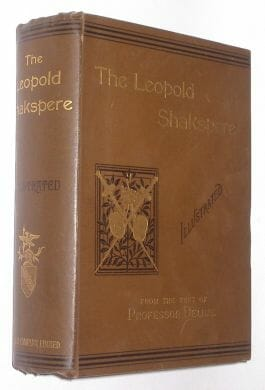 Cassell The Leopold Shakespere Shakespeare c.1900