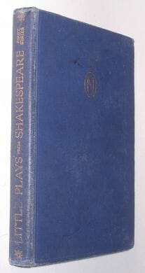 Little Plays From Shakespeare First Series Nelson 1931