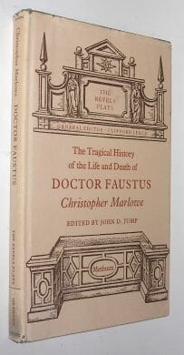 Doctor Faustus Christopher Marlowe Methuen 1968