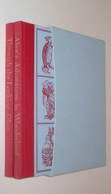 Alice's Adventures in Wonderland & Through the Looking-Glass Folio Society 1990