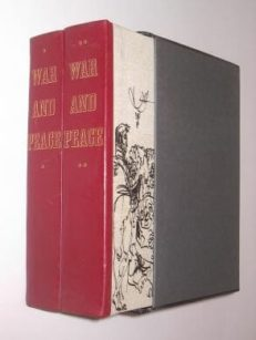 War and Peace Leo Tolstoy Folio Society 1971
