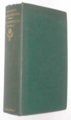 Complete Works William Shakespeare Collins 1951