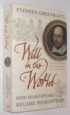 Will In The World Stephen Greenblatt Pimlico 2005