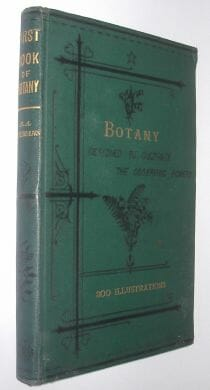 The First Book Of Botany Youmans Kegan Paul Trench 1885