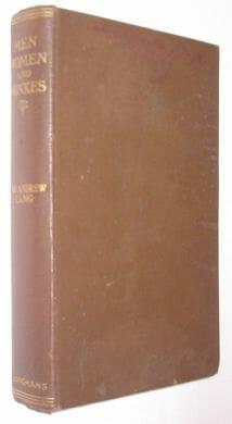 Men Women and Minxes Mrs Andrew Lang Longmans 1913