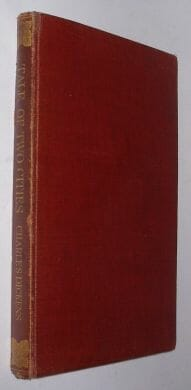 A Tale Of Two Cities Charles Dickens Macmillan 1930