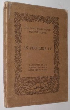 As You Like It Lamb Shakespeare Chatto & Windus 1907