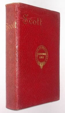 The Poetical Works Of Sir Walter Scott Henry Frowde c1890