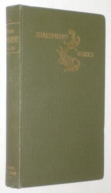 Shakspere's Works III Avon Shakespeare 1912