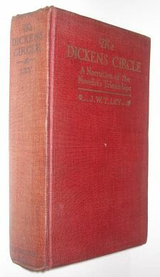 The Dickens Circle J W T Ley Dutton 1919