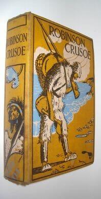 Robinson Crusoe Daniel Defoe Abbott Associated Newspapers ca1930