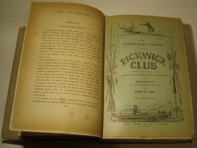 The Posthumous Papers of the Pickwick Club Dickens Topical Edition 1909