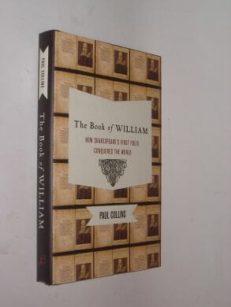 The Book of William First Folio Paul Collins Bloomsbury 2009