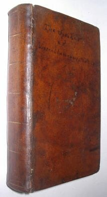 The Speaker or Miscellaneous Pieces London 1792