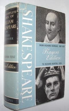 Complete Works Players Edition Shakespeare Collins 1964