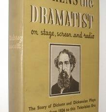 Dickens The Dramatist Dubrez Fawcett Allen 1952