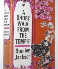 A Short Walk From The Temple Stanley Jackson Joseph 1970