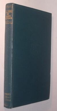 English Men Of Letters Milton Pattison 1926