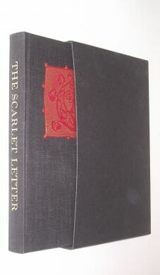 The Scarlet Letter Nathaniel Hawthorne Folio Society 1992