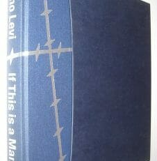 If This Is A Man Primo Levi Folio Society 2000