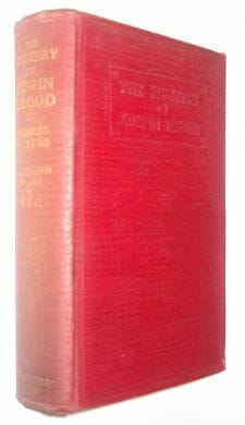 The Mystery Of Edwin Drood Dickens W.E.C. Ouseley c1920