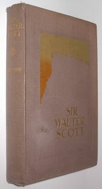 Sir Walter Scott Amy Cruse Harrap 1915
