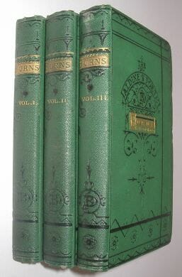 The Poetical Works Of Robert Burns Bell And Daldy ca1860