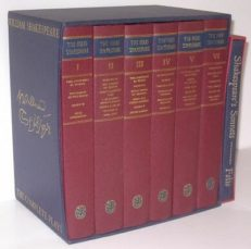 Folio Society Shakespeare Complete 6 Volumes plus Sonnets 1988-9