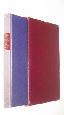 The Letters of Dorothy Osborne to Sir William Temple 1652-54 Folio Society 1968