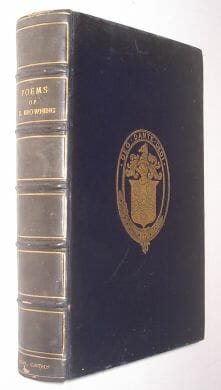 Poems Of Robert Browning Oxford Humphrey Milford 1919